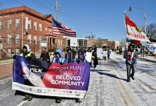 Photo of MLK Parade Undeterred by Frigid Weather