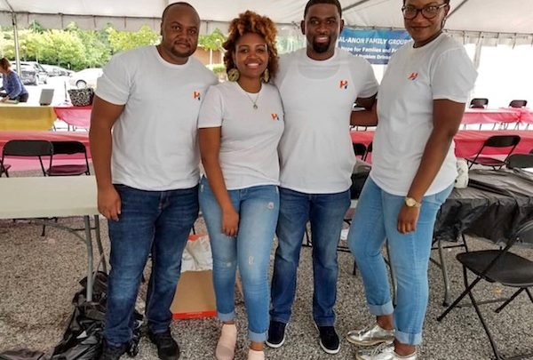 From left: Erick Bett, Angela Mugo, Asafu Thomas and Sheena Cooper