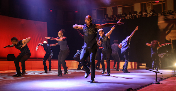 Step Afrika! electrifies the crowd. (Courtesy of Strathmore)