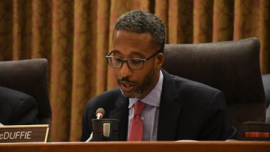 Photo of McDuffie, White Float Key Bills in New Council Session