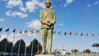 Photo of Pan-Africanists Laud New Haile Selassie Statue
