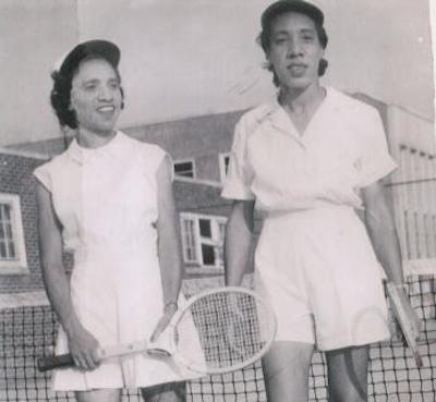 Roumania and Margaret Peters at Tuskegee Institute (University), c. 1937 – 1941 (Courtesy photo)