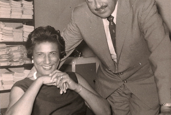 This African-American female legal mastermind, pictured with Thurgood Marshall, drafted what would become the argument for Brown v. Board. (Courtesy photo)