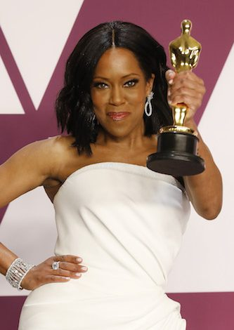 Regina King (Best Actress in a Supporting Role: If Beale Street Could Talk) poses in the press room at the 91st Annual Academy Awards at the Dolby Theatre in Hollywood, California on February 24, 2019.