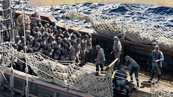 Representation of Africans on a slave ship bound for America (Courtesy photo)