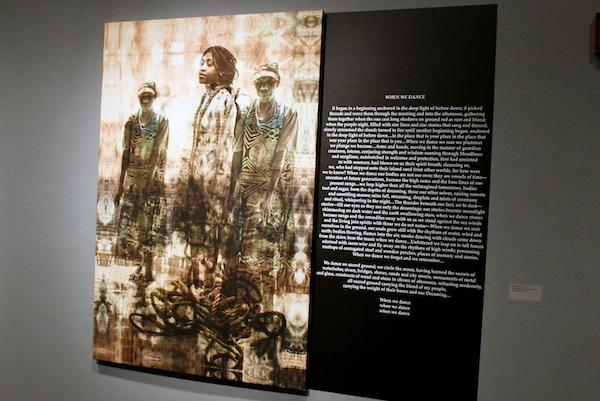 Exhibit portrays life of Austrailia's aboriginal people. (Courtesy photo)