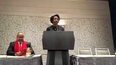 Photo of Rep. Underwood to Black Nurses: Go into Politics