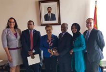 Photo of Congressional Delegation Visits East Africa for First Time in 14 Years