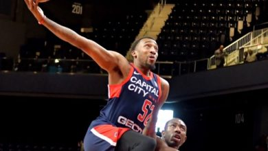 Photo of Go-Go Defeats Mad Ants in Home Finale