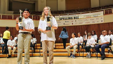 Photo of WI-Sponsored Students Among Scripps Spelling Bee Contestants
