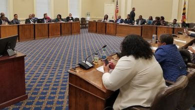 Photo of Police Officers Seek Help from Md. Lawmakers