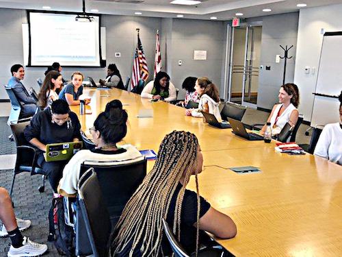 Student Advisory Committee Meeting 2019 (Courtesy of SBOE)