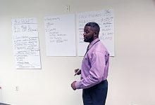 Photo of Adofo Educates Ward 8 Residents on ANC Budget