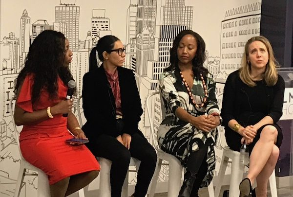 The 2018 Empowering women in Media, a networking and panel event that presented women of color in media sharing their stories with other women who are looking to break into the world of media. (En la Escena/Kizzy Cox)
