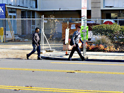 Construction near Van Ness has altered the entrance and exits of nearby businesses (PSS Innovations)