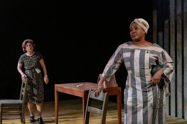 "Susan Galbraith (left) as Susannah and Roz White as Pearl in ""Black Pearl Sings."" (Courtesy of Thom Goertel)"