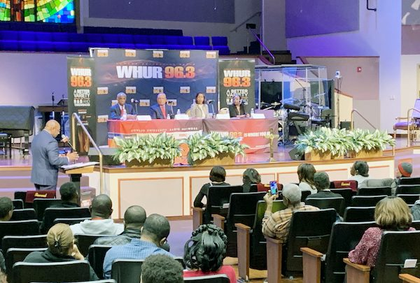 WHUR held a training forum at First Baptist Church of Highland Park on the ongoing opioid crisis. (Hamil R. Harris/The Washington Informer)
