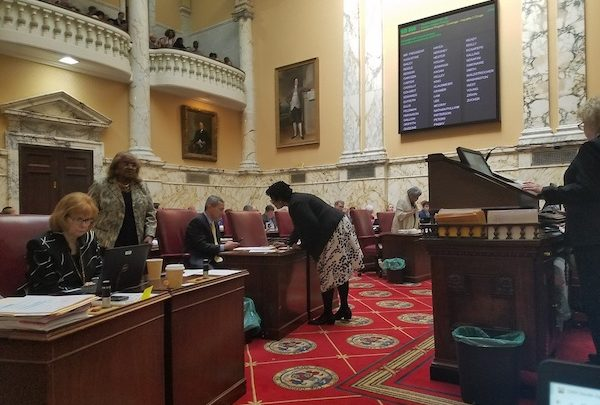 The Maryland Senate holds a session on April 3. (William J. Ford/The Washington Informer)