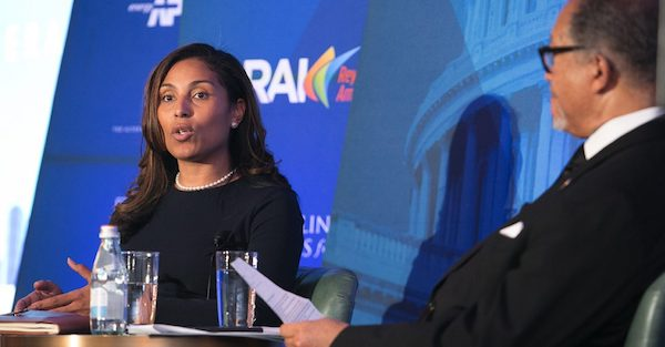 Cherie Wilson is the Director of Federal Affairs for General Motors. Her responsibilities at GM include developing and executing legislative and political engagement in vehicle finance, corporate sustainability and diversity. (Courtesy of NNPA Newswire)