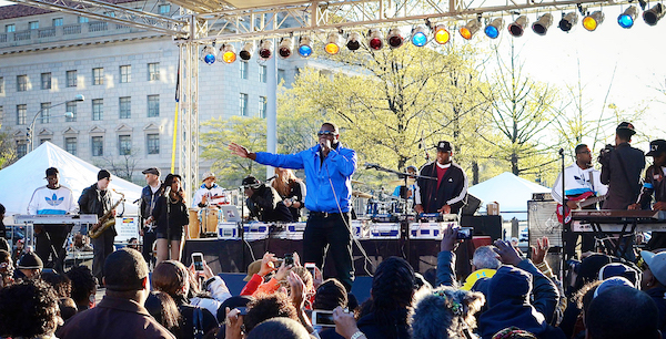 Doug E. Fresh is one of the performers expected to take the stage at Freedom Plaza in northwest D.C. in celebration of Emancipation Day. (Courtesy of Gee James@CMediaUSA)