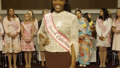 Photo of Princesses of Color Change Face of Cherry Blossom Tradition