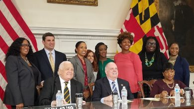 Photo of Hogan Vetoes 'Ban the Box' Legislation, Majority of Bills Go into Law Without Signature