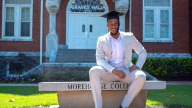 Photo of Local Morehouse Grads Euphoric over Student-Loan Gift