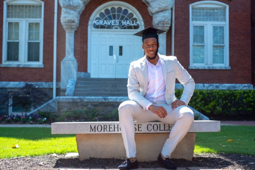 Darrell Larome, a 2019 graduate of Morehouse College (Courtesy photo)