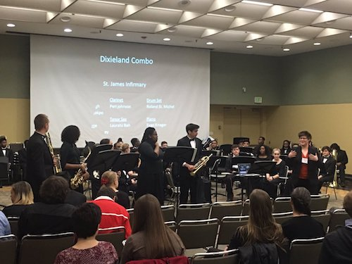 The Eleanor Roosevelt High School chamber ensembles will perform later this year at the renowned Midwest Clinic International Band, Orchestra and Music Conference. (Courtesy photo)