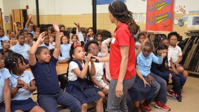 Photo of Park Employees Visit Schools to Stress Water Safety