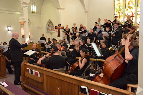 A performance by DC Strings May 4 at St. Philip the Evangelist Episcopal Church in southeast D.C. (Anthony Tilghman/The Washington Informer)
