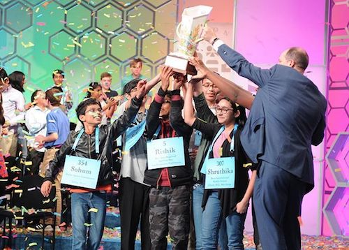 Photo of Scripps Spelling Bee Makes History with Eight Winners