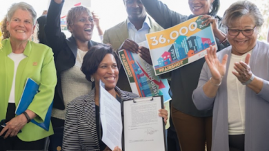Photo of D.C. Mayor Signs Order on Housing