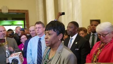 Photo of Jones Chosen as Md. House Speaker: 'Historic'