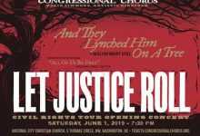 Photo of Congressional Chorus' 'Let Justice Roll' Concert Set for June 1