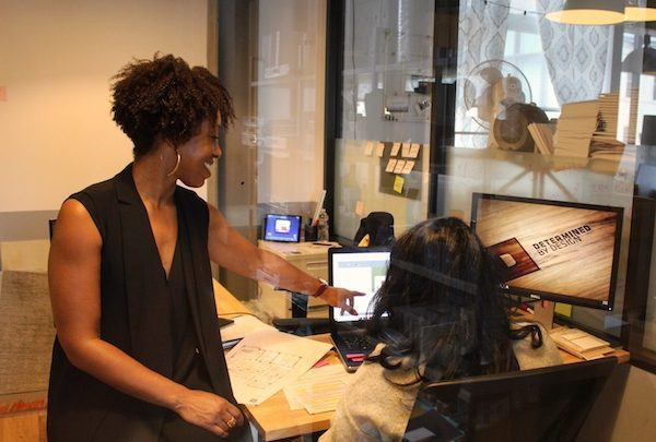 Kia Weatherspoon, founder and CEO of Determined By Design in northeast D.C., was one of the original beneficiaries of a Washington Area Community Investment Fund (Wacif) project that helped minority-owned businesses scale up. (Brigette White/The Washington Informer)