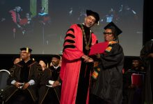 Photo of Persistent Grandmother Gets UDC Degree
