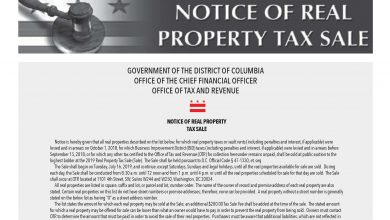 Photo of 2019 DC Sales Tax Report