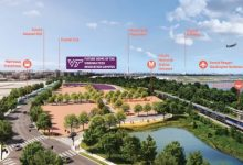 An artist rendering of the new Virginia Tech Innovation campus (Courtesy of Virginia Tech)