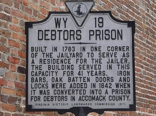 Image result for what was a debtors prison