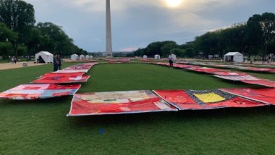 Photo of Monument Quilt Sends Message Against Rape Culture, Domestic Violence