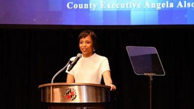 Photo of Alsobrooks Lauds Prince George's Strength in 1st State of the County Address