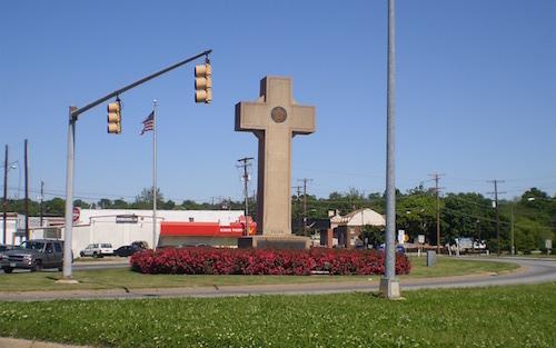 Bladensburg World War I Memorial in Bladensburg, Maryland (Ben Jacobson via Wikimedia Commons)