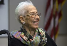 Photo of Katherine Johnson, NASA Mathematician of 'Hidden Figures' Fame, Dies at 101