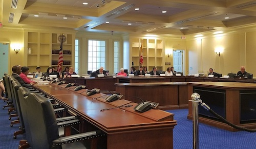 The Blueprint for Maryland's Future Funding Formula Workgroup holds its first meeting in Annapolis on June 20. (William J. Ford/The Washington Informer)