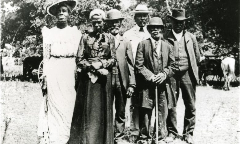 Grace Murray Stephenson and family at an Emancipation Day Celebration in 1900 (Austin History Center, Austin Public Library via Smithsonian Magazine)