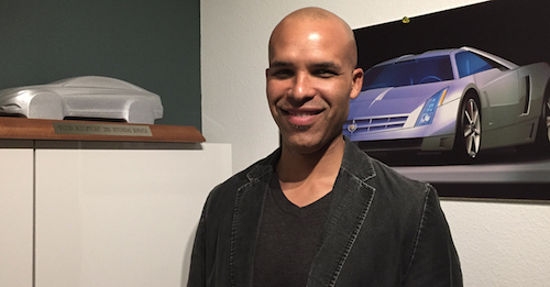 Global car designer Andre Hudson, who spent the first half of his career working for both General Motors and Hyundai, recently led a team of designers and sculptors, while working at the Italy-based Icona Design, reimagining the next wave of vehicles. (Courtesy of NNPA Newswire)