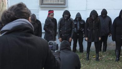 """A scene from the set of """"Bound: Africans vs. African Americans,"""" directed by Peres Owino (Courtesy of NNPA Newswire)"""