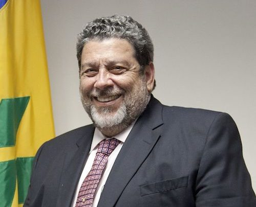 St. Vincent and the Grenadines Prime Minister Ralph Gonsalves