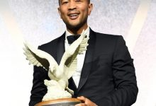 Photo of Broadcasters Honor John Legend for Community Service